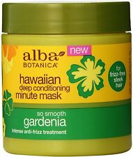 Hawaiian Deep Conditioning Gardenia Minute Mask, Alba Botanica, 5.5 oz
