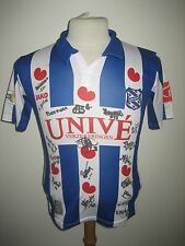 SC Heerenveen MATCH WORN + SIGNED football shirt soccer jersey voetbal size 164