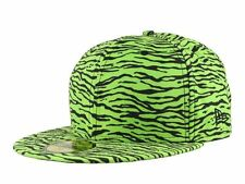 NEW ERA x JEREMY SCOTT Tiger LIMITED EDITION 59Fifty CAP Hat GREEN BLACK 7 1/4