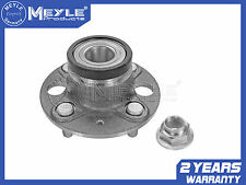 FOR HONDA JAZZ MK2 1.2 1.4 DSi REAR WHEEL BEARING KIT WITH ABS 02-08 MEYLE