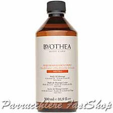 Neutral Body Oil Massage Byothea ® 500ml Oli di Cocco e germe di grano Massaggio