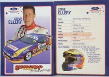 STEVE ELLERY 2002-2003 FORD SUPER CHEAP AUTO RACING MOTORSPORT CARD