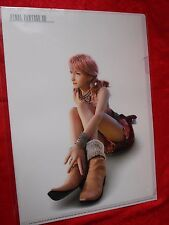 NEW! FINAL FANTASY Xlll Oerba Dia Vanille / A4 Size FILE FOLDER UK DESPATCH RARE