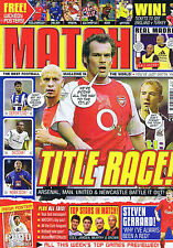 ARSENAL / MAN UTD / NEWCASTLE / REAL MADRID Match Mar 22 2002 - 3