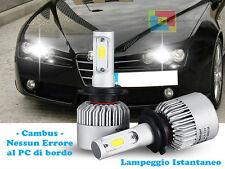 LAMPADE ABBAGLIANTI LED ALFA ROMEO 159 LAMPEGGIO ISTANTANEO 6000K