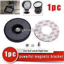 1x Magnetic Base Mount Bracket Holder for LED Work Light Bar Offroad Car+Screws