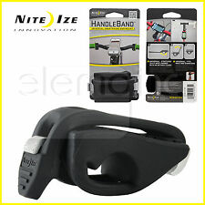 Nite Ize HANDLEBAND Bike Rail Round Bar Mount for Cell Phone Devices NEW - Black