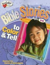 Bible Stories to Color & Tell (Ages 3-6) (HeartShaper® Resources?Early Childhood