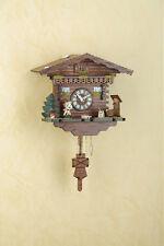 Reloj péndulo Selva negra Reloj cucú de rotación Bailarina MADE in GERMANY 256PQ