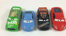 Pixar Car Disney Diecast 1:55  Lot A Set 4 Sally Nitroade Chick Hicks Ferrari