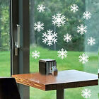 Snowflakes Wall/Window Sticker Vinyl Christmas Decal Removable Decor ku1