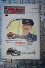 THE MOTOR June 4 1952 Morris Minor Aston Martin DB III Goodwood Monte Carlo