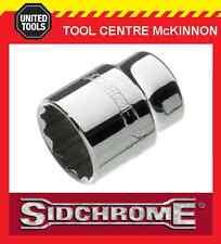 """SIDCHROME SCMT14225 1/2"""" DRIVE 12pt 8mm TORQUEPLUS STANDARD SOCKET"""