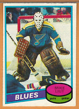 1980-81 , OPC , O-PEE-CHEE , MIKE LIUT , CARD #31 , ROOKIE
