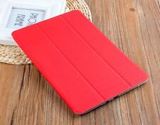 "FUNDA FLIP SMART COVER TABLET SAMSUNG GALAXY TAB E 9.6"" SM-T560 T565 - ROJO"