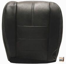 2008 2009 2010 Ford F250 FX4 XLT SPORT Driver Bottom Leather Seat Cover BLACK*