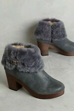 New in box Anthropologie by Farylrobin Seth Clog Booties size 7