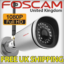 Foscam FI9900P 1080P Full HD IP Security CCTV Camera Wireless IR Plug and Play