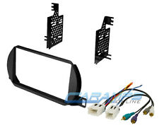 NEW DOUBLE 2 DIN COMPLETE CAR STEREO RADIO DASH INSTALLATION KIT & BOSE AMP PLUG