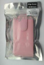 NEW FLIP POUCH FOR SAMSUNG i8000 OMNIA II 2 IN PINK