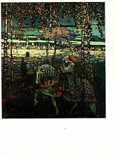 "1979 Vintage KANDINSKY ""COUPLE ON HORSEBACK"" GORGEOUS COLOR offset Lithograph"