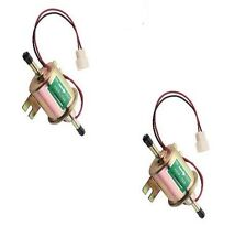 New 2X Gas Diesel Inline Low Pressure Electric Fuel Pump 12V HEP02A HEP-02A