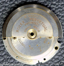 Rolex Bubbleback Used Perpetual Rotor and Rotor Base for Parts