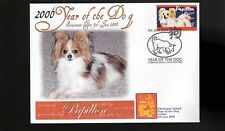 PAPILLON 2006 YEAR OF THE DOG STAMP SOUVENIR COVER 2