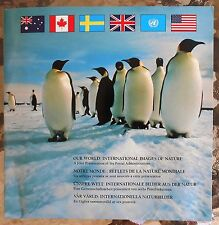 Our World International Images Of Nature as Issued By The USPS.MNH.OG. #02 OW