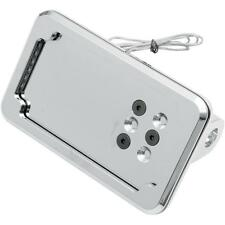 Kuryakyn Chrome Curved Laydown License Plate Mount with Frame (9171)