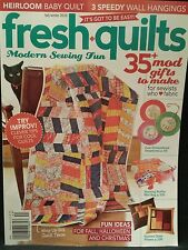 Fresh Quilts clever tips heirloom Baby quilt Fall/Winter 2014 FREE SHIPPING