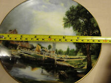 PLATE - TER STEEGE BV DELFT BLAUW HANDDECORATED IN HOLLAND