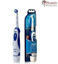 GENUINE BRAUN ORAL B ADVANCE POWER ELECTRIC TOOTHBRUSH DB4010 BATTERIES INCLUDED