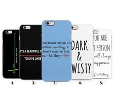 Grey's Anatomy Tv Show Series drama Doctors hard phone case cover for Iphone