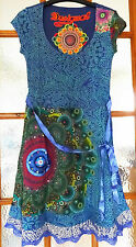 New Desigual Ladies Dress 'YOLANDA' Half Sleeve, Size L