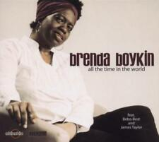 BRENDA BOYKIN - ALL THE TIME IN THE WORLD **FEAT. BEBO BEST & JAMES TAYLOR**CD**