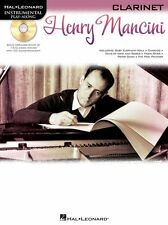 Instrumental PlayAlong Henry Mancini CLARINET Play PINK PANTHER Music Book & CD