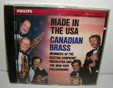 432 156-2 Canadian Brass Made In The USA  Boston Symphony Orch & NY Philharmonic