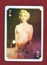 MARILYN MONROE Star Playing Card SEVEN OF DIAMONDS Bernard Hollywood Issue 2011