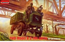 FWD MODEL B 3-TON LORRY (BRITISH & AMERICAN EXPEDITIONARY CORPS MKGS) 1/72 RODEN