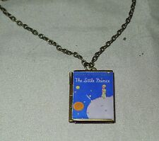 Le Petit Prince * The Little Prince book charm LOCKET necklace Antoine de Saint-