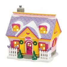 Dept 56 Disney Christmas Village Minnies House 4038631 NEW NIB Minnie Mouse