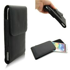 Clip On Belt Flip Cover PU Leather Case For Samsung Galaxy Note3 III N9000 N9005