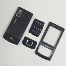 Genuine Full Housing Front Back and Keypads For Nokia 6500 Slide 6500s Black