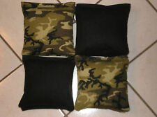 Quality Cornhole Bags, corn hole Regulation! Camouflage Set of 8