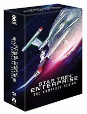 Star Trek: Enterprise Complete Series Epik Epic Pack Seasons 1-4 Boxed DVD Set