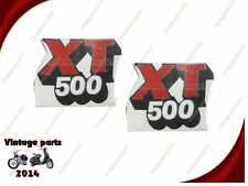 OLD YAMAHA 1981 XT500 SIDE PANEL SIDE COVER DECAL STICKER 20-031