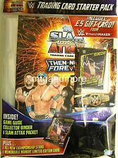 Slam Attax Then Now Forever Starter Pack + Limited Card