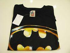 NEW AUTHENTIC  Men's JUNK FOOD 'Batman™' Graphic T-Shirt Size Large - Black