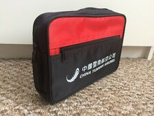 China Yunnan Airlines Zippered Pouch Travel Case Shaving Toiletry Vinyl Bag